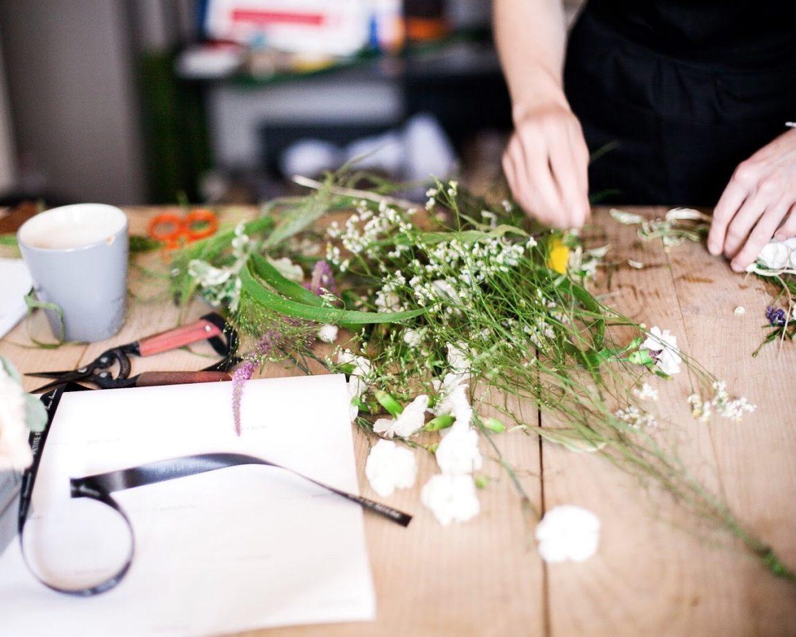 Блог о флористике Маши Кравченко | правила составления цветочной композиции| как собрать букет