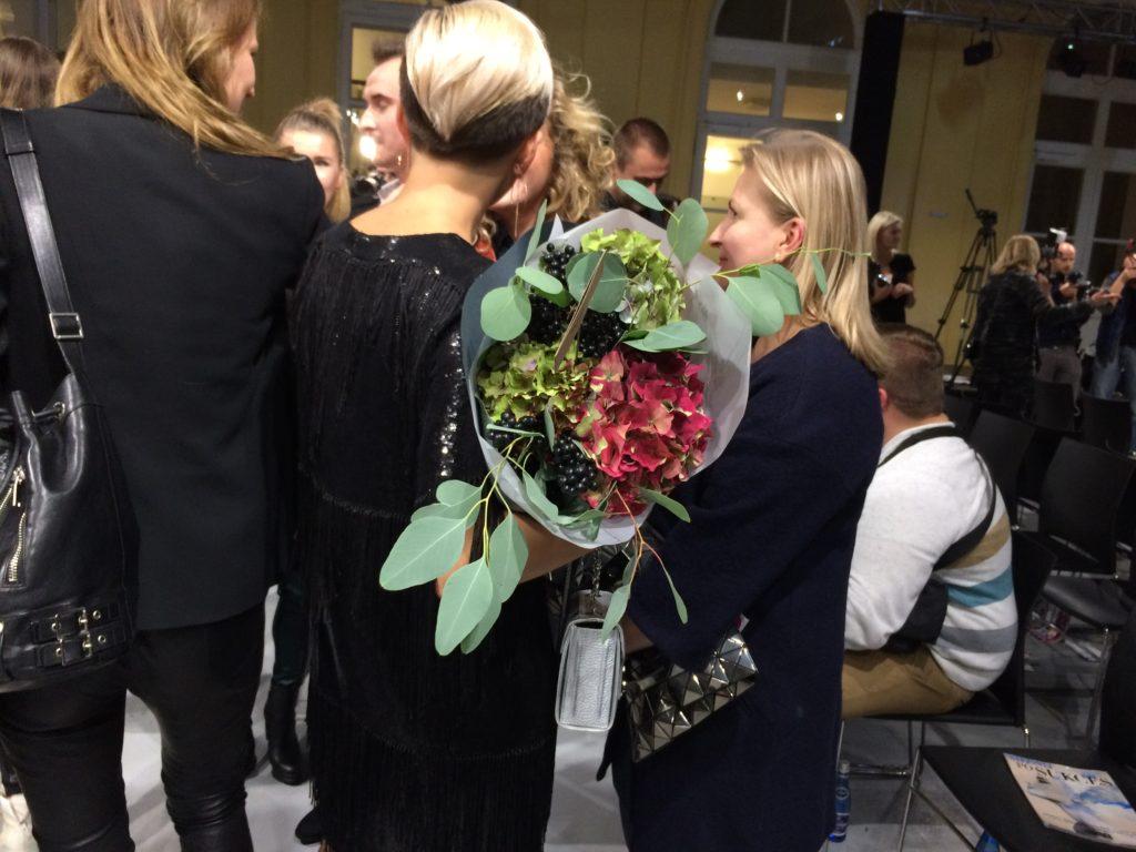 Блог о флористике Маши Кравченко, Оформление модного показа