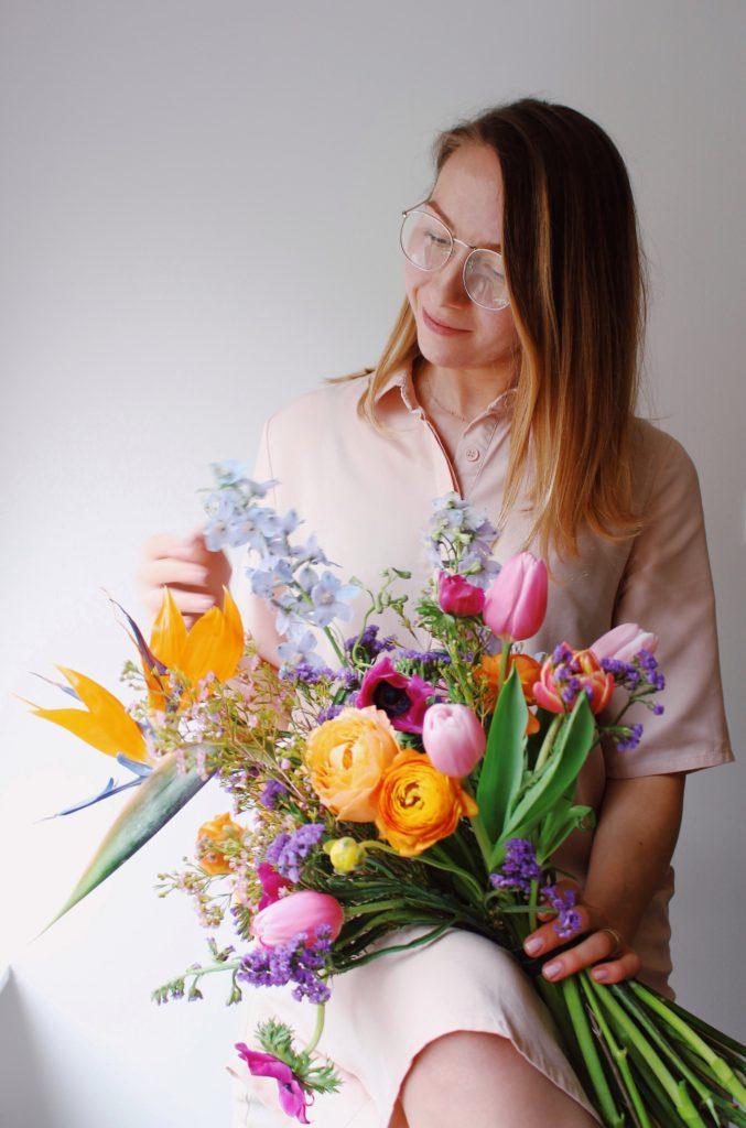 Цветочный воркшоп Маша Кравченко